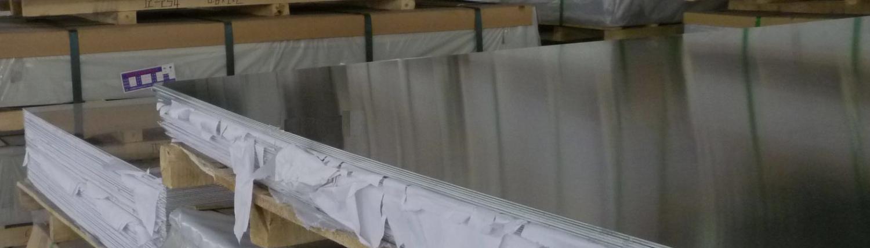 Alumínium lemez raktárról 24 órán belüli kiszállítással