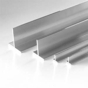 Aluminium T profil raktárkészletről kapható házhozszállítással