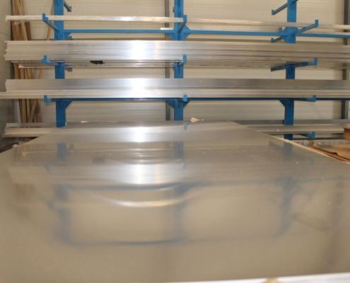 INOX rozsdamentes acéllemez raktárról kiszállítással